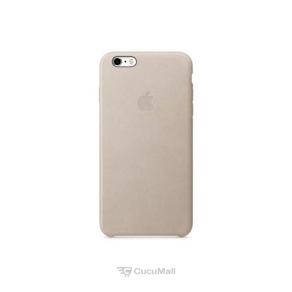 Apple iPhone 6s Plus Leather Case - Rose Gray (MKXE2) - find