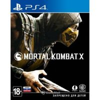 Games for consoles and PC Mortal Kombat X (PS4)