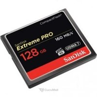 Flash memory (flash drive, memory card, SD, MiniSD, MicroSD) SanDisk 128 GB Extreme Pro CompactFlash SDCFXPS-128G-X46