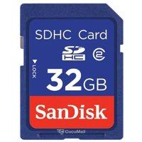 Flash memory (flash drive, memory card, SD, MiniSD, MicroSD) SanDisk SDHC 32Gb