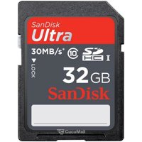 Photo SanDisk SDHC Ultra Class 10 32Gb (SDSDU-032G-U46)